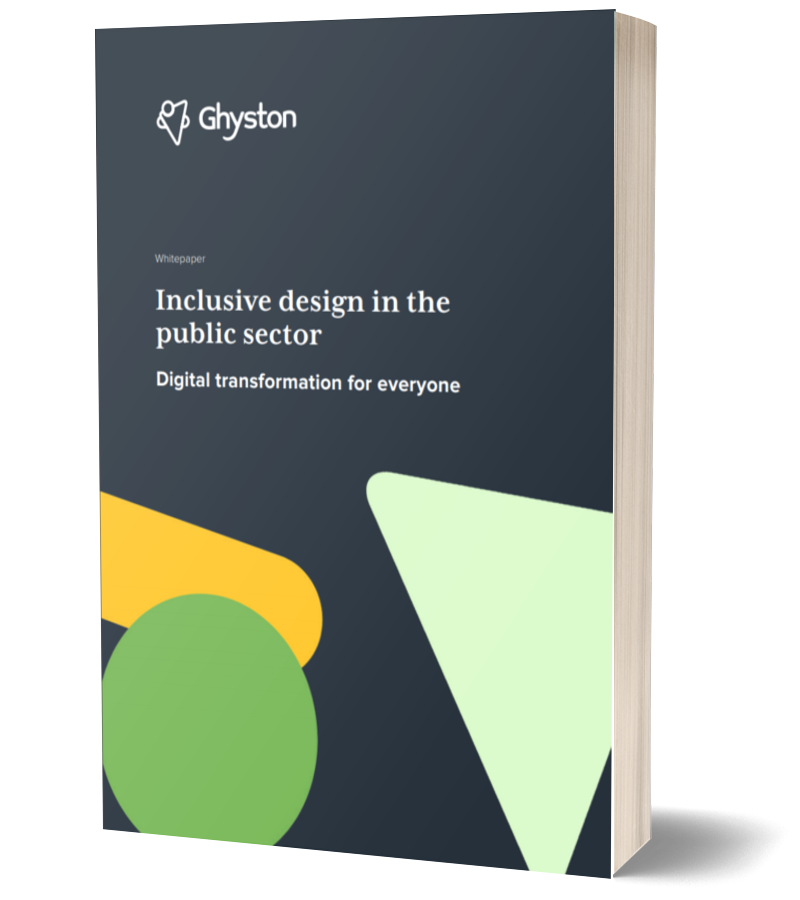 Inclusive design in the public sector: digital transformation for everyone